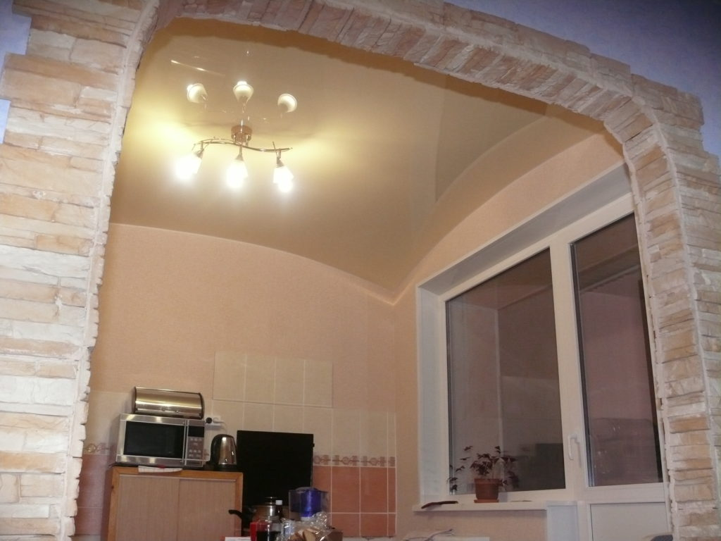 2.а. №7 Формы потолка.Форма арка .фото №7
